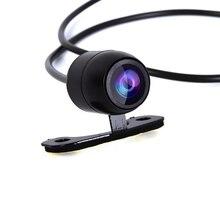 รถด้านหลังดูกล้อง Night Vision การตรวจสอบที่จอดรถ CCD กันน้ำ170องศาวิดีโอ HD สำหรับรถยนต์ทั้งหมด ossuret