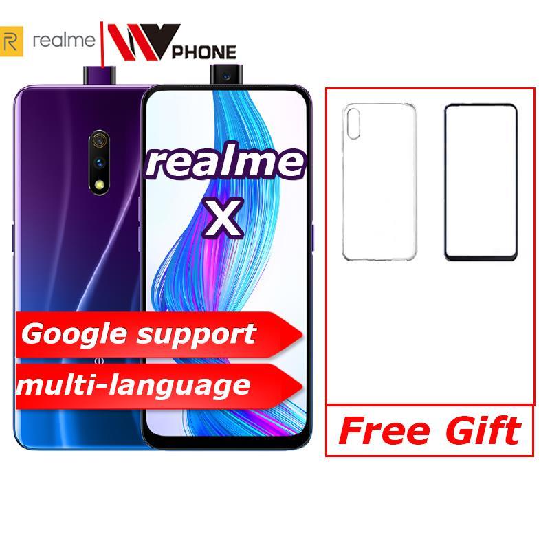 Фото. Realme x 4G LTE 4 Гб 64 Гб Восьмиядерный процессор Snapdragon 710 экран 6,53 дюйма 3765 мАч двойная