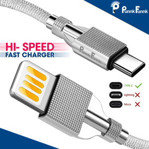 luxury electroplate USB C Micr