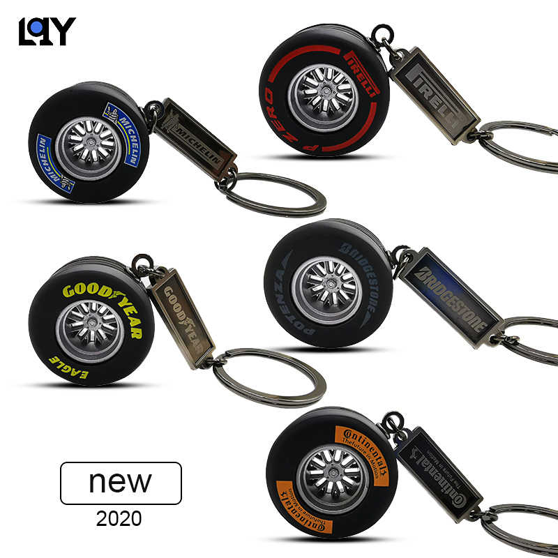 Lqy 2020 Keychain Car Business Tire Interior Accessories Keyring Creative Auto Accessories New Aliexpress