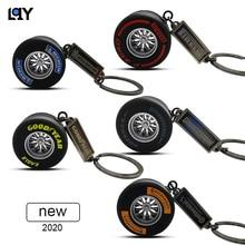 LQY 2020 portachiavi car business pneumatici accessori interni portachiavi accessori Auto creativi nuovo