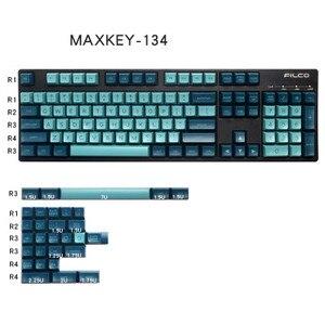 MAXKEY dark night keycaps SA двойной выстрел ABS keycap 134 клавиши для MX Переключатель механическая клавиатура