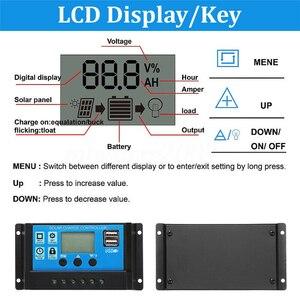 Image 2 - Chaude 3C 100W 18V double USB panneau solaire chargeur de batterie contrôleur solaire pour bateau voiture maison Camping randonnée