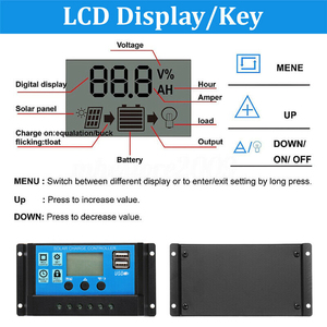 Image 2 - Hot 3C 100W 18V Dual USB Solar Panel Battery Charger Solar Controller for Boat Car Home Camping Hiking