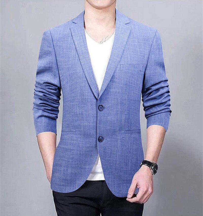 Мужская Синяя Куртка Jaqueta Masculina, Повседневная куртка больших размеров, FYY523 s