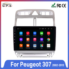 GPS Navigation Radio Multimedia-Wifi 307CC Peugeot 307 307SW 2din Android Bluetooth-Player