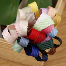 Grosgrain Till Ribbon Webbing Bias Muti-Color Polyester Binding Tape 6 9 12 15 20 25mm For Hat Clothing Wrapping Flower Bags Sew