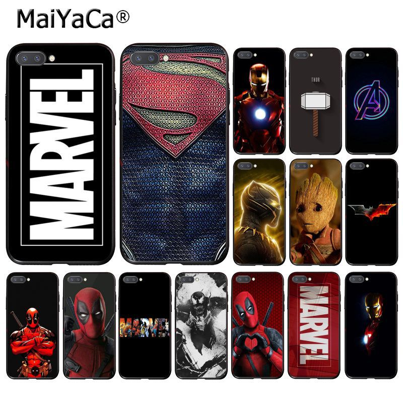 MaiYaCa Deadpool Iron Man <font><b>Marvel</b></font> Avengers <font><b>Phone</b></font> <font><b>Case</b></font> for Huawei <font><b>Honor</b></font> 8X <font><b>9</b></font> 10 20 <font><b>Lite</b></font> 7A 5A 7C 10i 20i View20 image