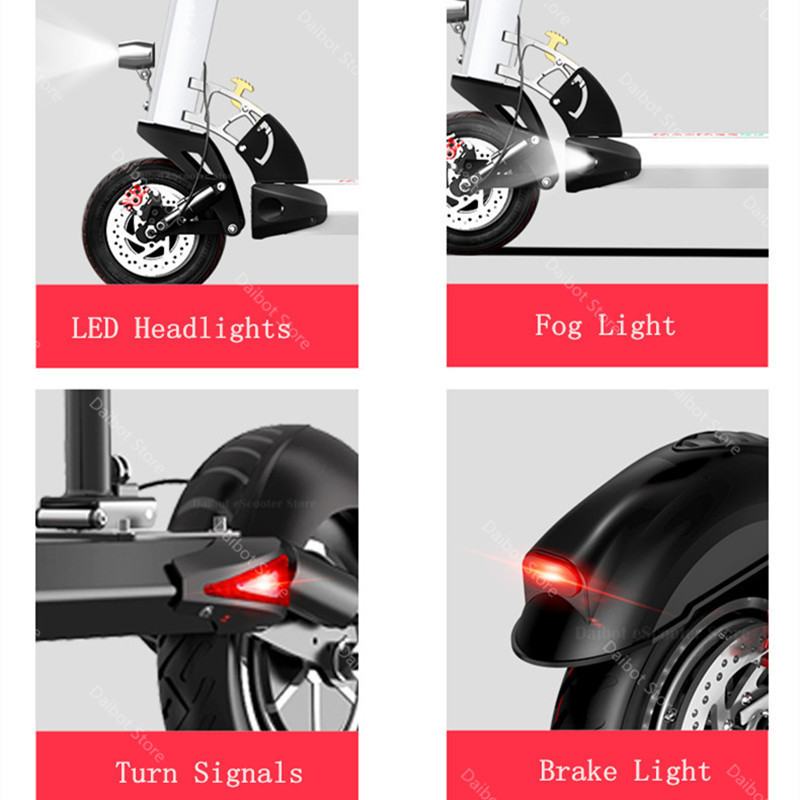 1200W 60V Electric Scooters Adults Two Wheels Electric Scooters High Speed 60KMH Folding Powerful Electric Bike With Seat (16)
