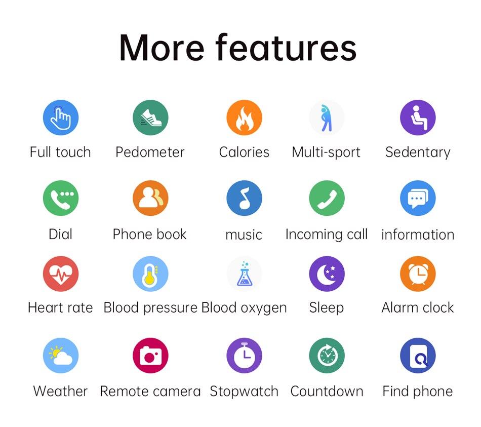 Hb21e5d67d7b042bcac162e08ce7181c2C LIGE New Smart Bluetooth Call Watch Men Women Heart Rate Sports fitness tracker Bracelet Watch Man for Android IOS Xiaomi Huawei