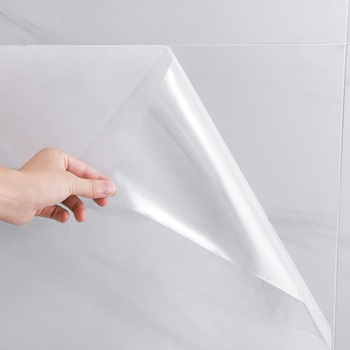 3M/5M/10M Transparent Kitchen Oil-proof Wall Sticker Heat-resistant self adhesive wallpaper Waterproof Anti-oil adhesive tape