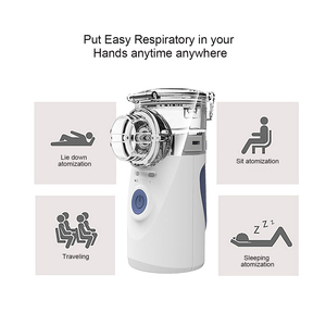 Image 2 - Health Care Mini Handheld portable Inhale Nebulizer silent Ultrasonic inalador nebulizador Children Adult Rechargeable Automizer