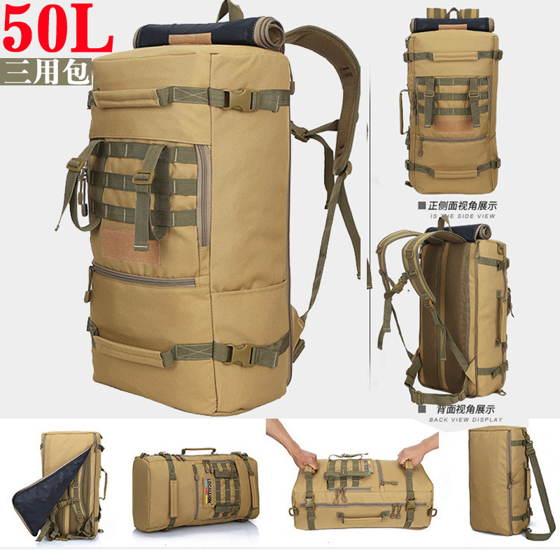 Travel Backpack Men And Women 60L Large-Volume Casual Sports Outdoor Mountaineering Bag Camping Outing Backpack Men's Wholesale