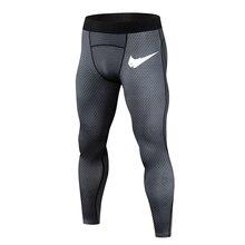 Компрессионные брюки для бега, мужские спортивные Леггинсы, спортивная одежда для фитнеса, длинные брюки, штаны для бега, обтягивающие леггинсы, Hombre