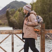 Simwood 2019 inverno novo para baixo casacos de moda masculina com capuz longo 90% pato branco para baixo parkas plus size alta qualidade jaquetas si980617