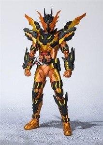 Image 5 - Аниме Kamen Rider фигурка SHF Build Cross Z Magma Фигурки ПВХ Коллекционная модель куклы 16 см