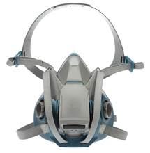 Respirador reusável da meia peça dianteira da trava rápida do conforto áspero 6502ql, vapor médio da poeira do anti-gás orgânico