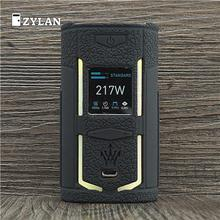 Case for VooPoo X217 217W TC Box Mod Protective Silicone Sleeve Full Cover for VOOPOO Woody X217 Vape lvsmoke ymer cbd vape mod electronic cigarette 510 thread 650mah battery box mod for all oil cartridge atomizers a palm cbd vape