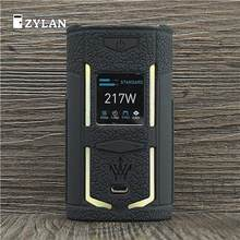Case for VooPoo X217 217W TC Box Mod Protective Silicone Sleeve Full Cover for VOOPOO Woody X217 Vape(China)