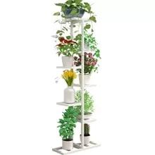 Iron Art Storage Flower Rack To Ground Multi-storey  Chlorophytum Botany Flowerpot Planting Shelves