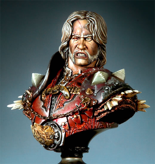 1/6  Ancient Officer Bust With Big Base 1/6  Resin Figure Model Kits Miniature Gk Unassembly Unpainted