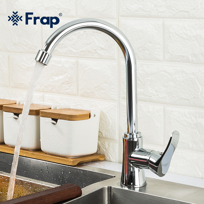 Frap Kitchen Faucets  Swivel Basin Mixer Crane Single Handle Single Hole Kitchen Faucet Mixer Sink Tap Kitchen Faucet  F40501