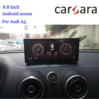 GPS Au di A3 8V Android Display Dashboard 2019 Navigation Autoradio In Car Multimedia Player USB WIFI Bluetooth image