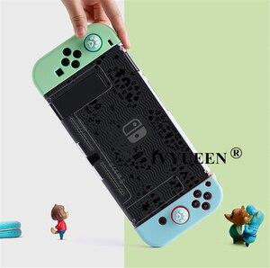 Image 5 - IVYUEEN per Nintendo Switch NS Console animali incrocio custodia rigida protettiva Shell per NintendoSwitch JoyCon Joy Con Cover posteriore