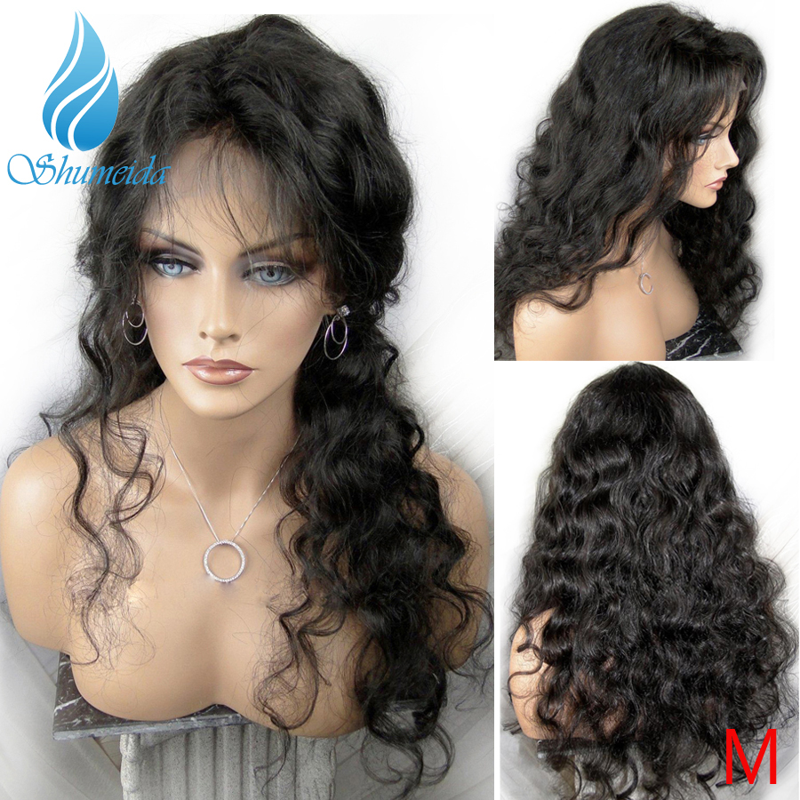 SMD Brazilian Body Wave 13*4 Lace Front Wigs for Black Women Middle Ratio Remy Human Hair Wigs Glueless Lace Wigs with Baby Hair