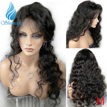 SMD Brazilian Body Wave 13*4 Lace Front Wigs for Black Women Middle Ratio Remy Human Hair Wigs Glueless Lace Wigs with Baby Hair - DISCOUNT ITEM  30% OFF All Category