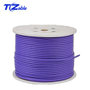 Image 1 - Network Cable Cat6 Pure Copper Shielded Twisted Pair Ethernet Cable For Internet Cable RJ45 Network Cable FTP Computer Cord