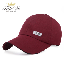 [FEILEDIS] Men Women Cap Dad Hat 100% Cotton Baseball Caps M