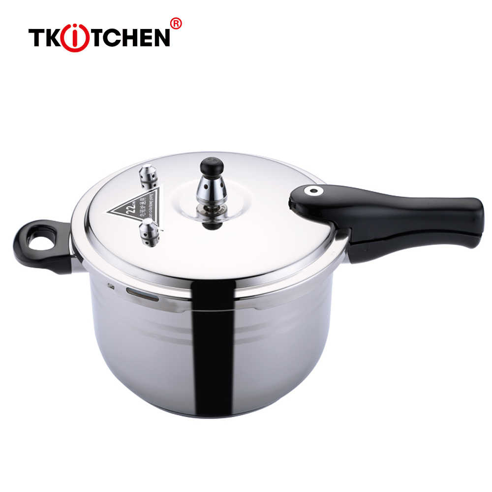Pressure Cooker Explosion-Proof Stainless Steel Soup Sup Pot Peralatan Masak Dapur Memasak Mini Komersial Presser Cooker Steamer