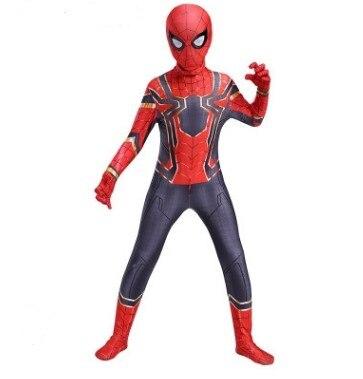 Детская пауком карнавальный костюм на Хеллоуин; Костюм красного и черного цвета Spidea костюм Человек-паук» костюм паука