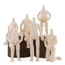 New 13 Movable Jointed 15.5cm Dolls Body for 1/8 BJD Doll Girls Plastic Toys Ob11 Nude Body Accessories Fashion Gift