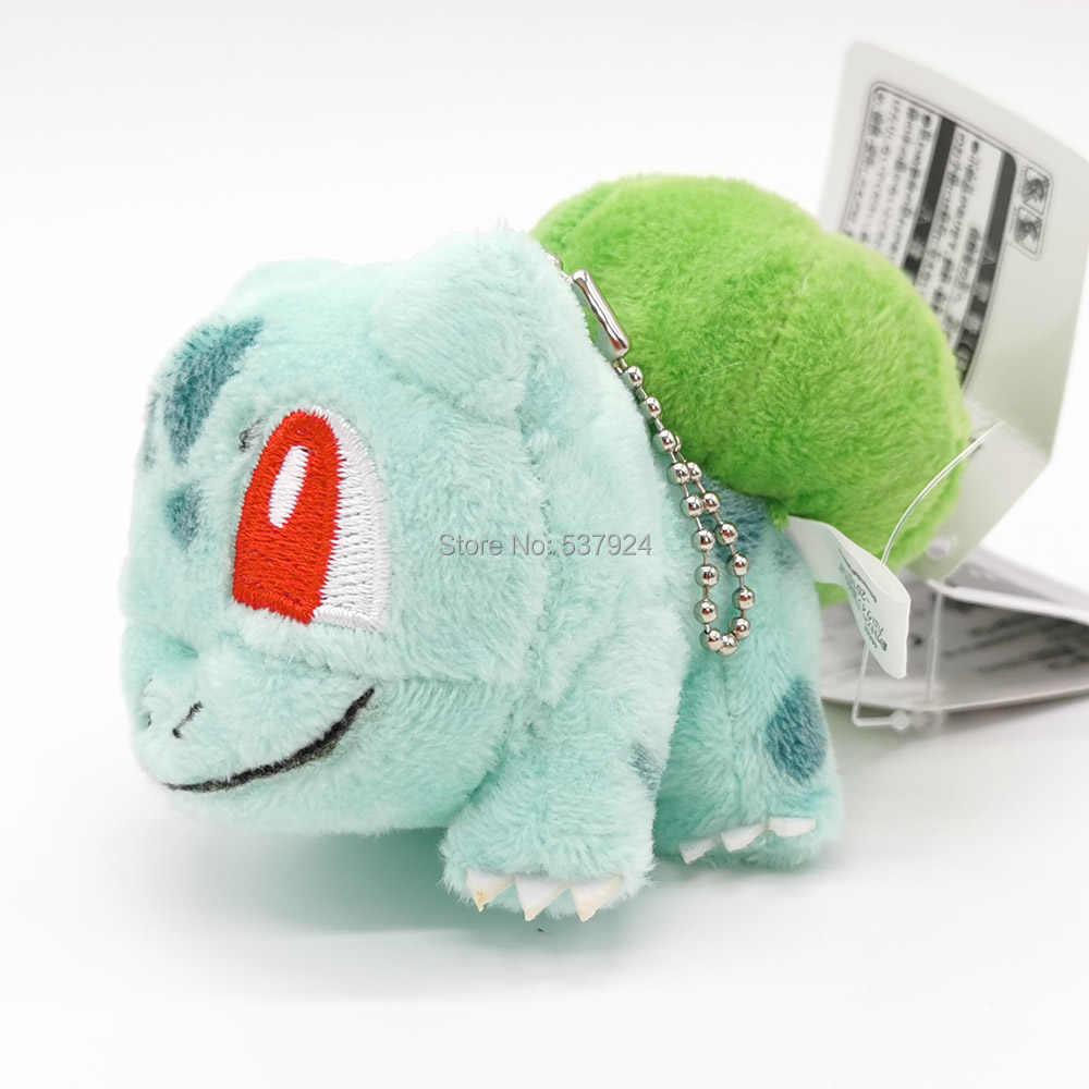 "Nowy Bulbasaur 3.5 ""9CM pluszowa lalka brelok wisiorek-CPPY"