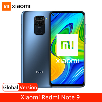 "Global Version Xiaomi Redmi Note 9 3GB 64GB / 4GB 128GB Smartphone Helio G85 Octa Core 48MP Quad Rear Camera 6.53"" 5020mAh"