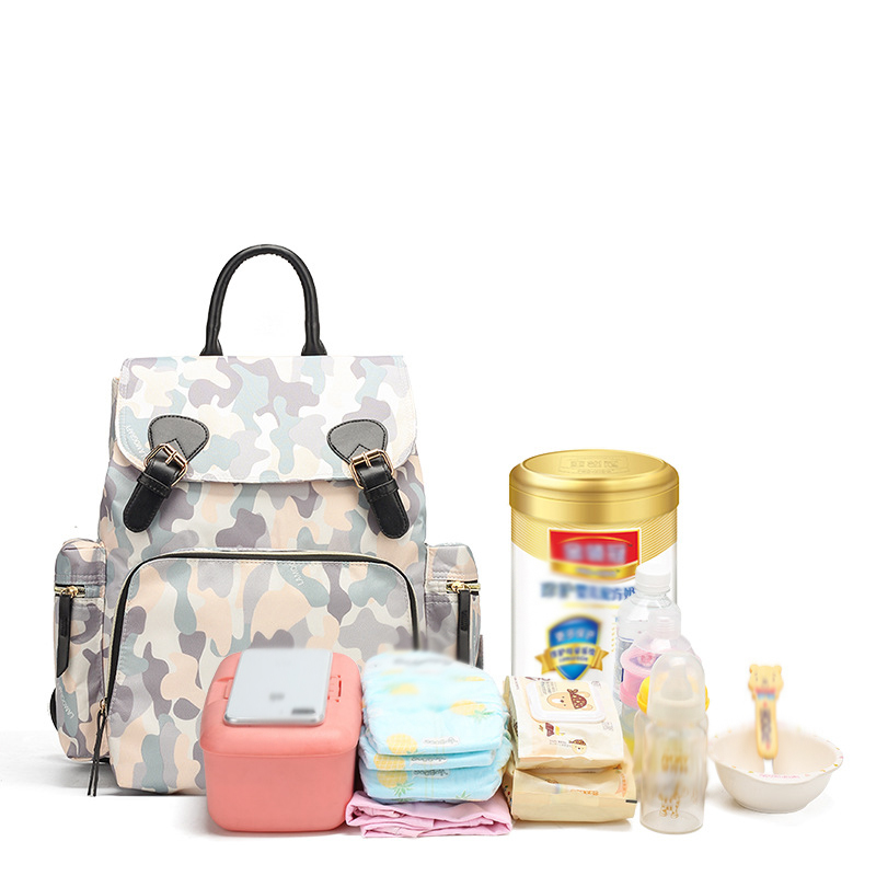 Multifunction Baby Diaper Bag Waterproof Mommy Handbag Large Capacity Maternity Backpack Baby Care Stroller Bag Nappy Bag Travel