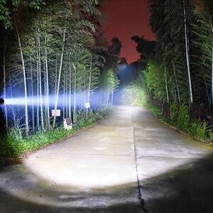 Image 5 - Litwod 3800 Lumen Taschenlampe LED licht leistungsstarke Jagd licht Taktische Wiederaufladbare Wasserdicht Scout Taschenlampe 5 Modi 18650/26650