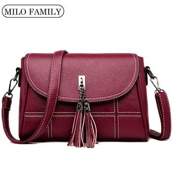 Fashion Tassel Women Messenger Bags Small Designer High Quality Bag Female Shoulder Woman CrossBody