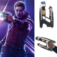 Star Lord Gun Blaster Resin 1:1 Replica Cosplay for Guardians of The Galaxy Peter Quill Gun Weapon (1 Pcs)