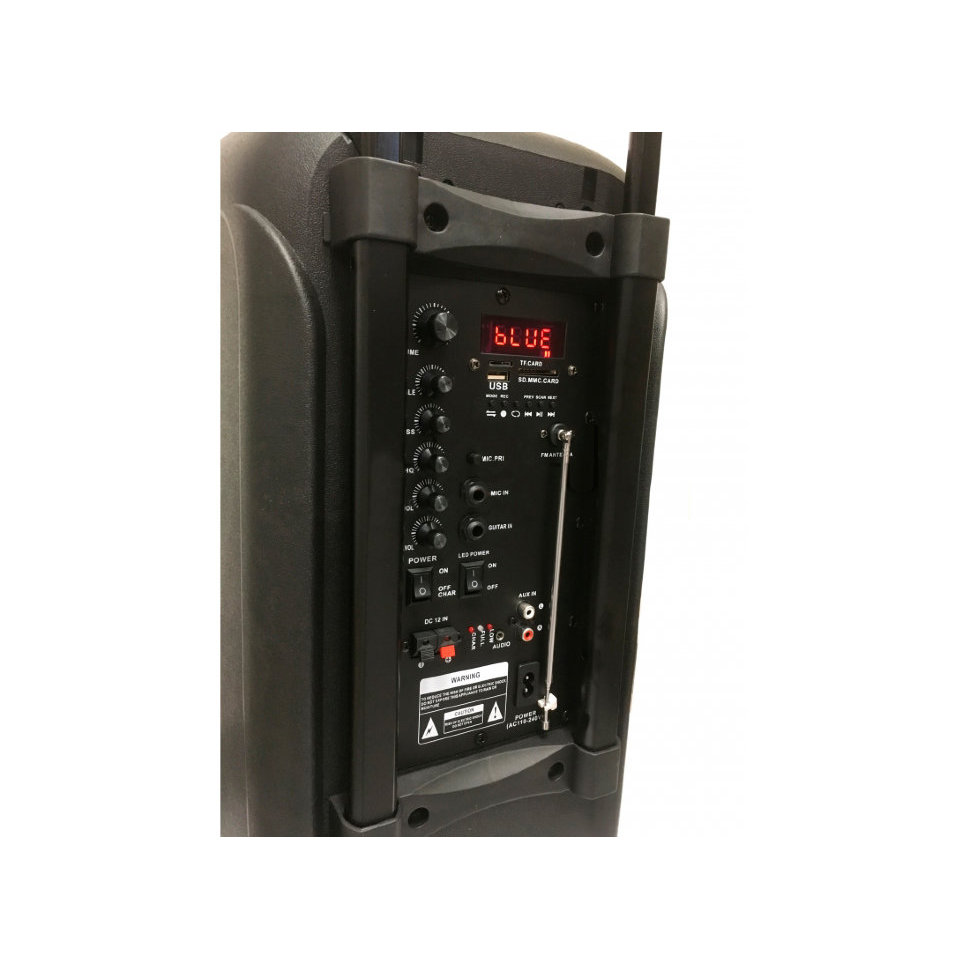 Système d'enceintes Eltronic avec EL-818 TWS comprenant un casque bluetooth et une clé USB