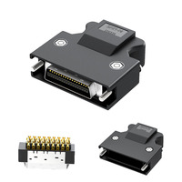 All Gold SCSI Connector 20 pin 26 pin 50 pin HPCN 50PIN 14P 20P 26P 36P Servo Connector|Connectors|Lights & Lighting -
