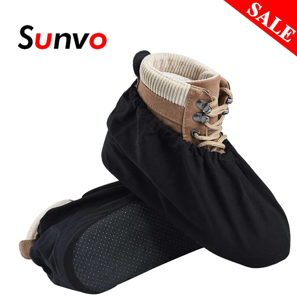 Kalınlaşmak Ayakkabı Kapakları kaymaz Yeniden Kullanılabilir Galoş Toz Geçirmez bot kılıfı Unisex Ayakkabı Koruyucu Erkekler Kadın Temizlik Aksesuarları