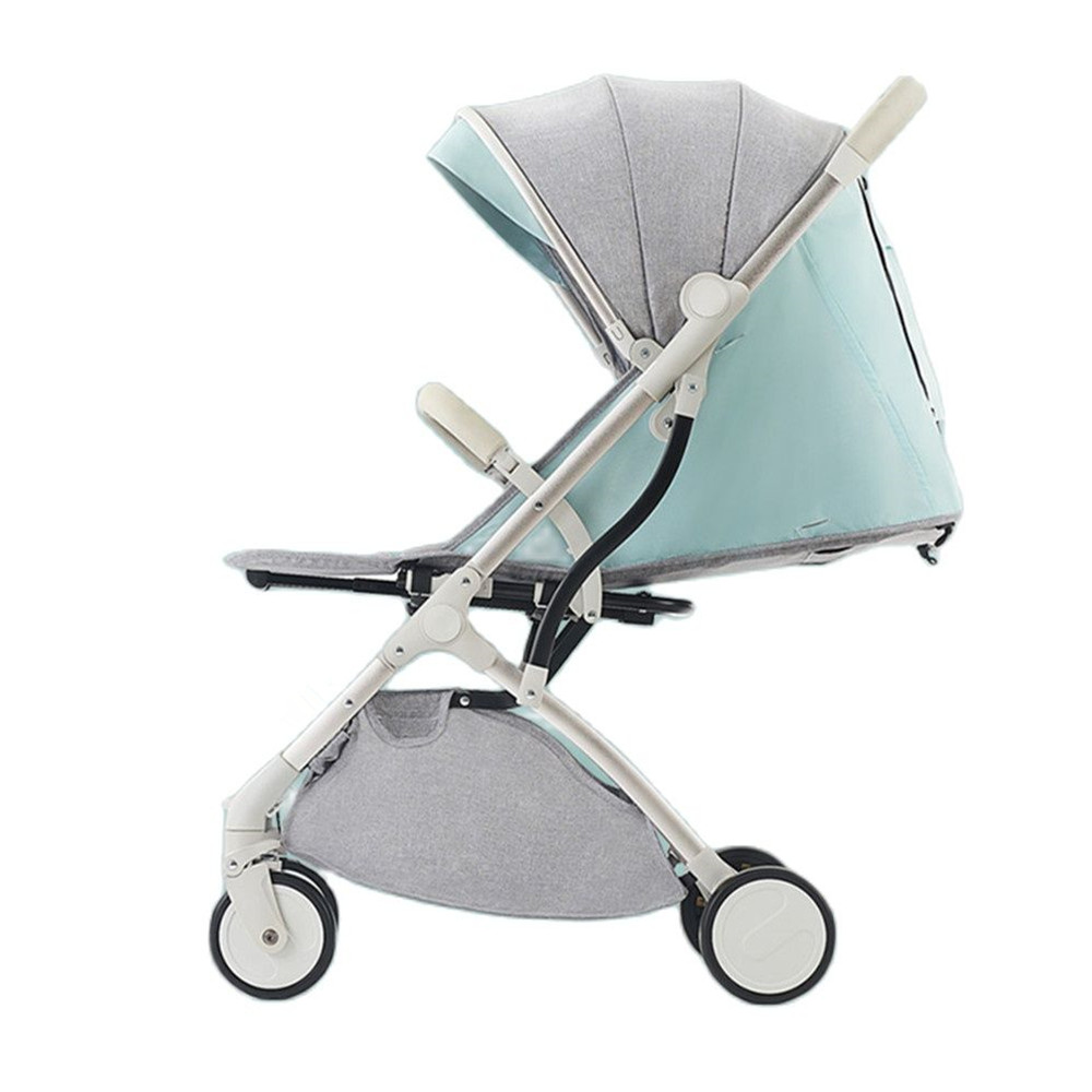 Baby Strollers for Children Baby Cars Pushchair Light Available Baby Cart Portable Trolley Folding Baby Carriage 2 in 1 Buggy