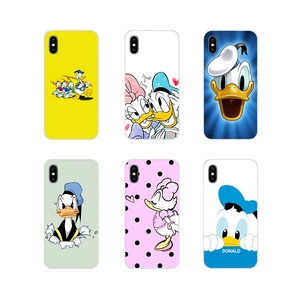 Accessories Phone Cases Covers Donald Duck For Huawei G7 G8 P7 P8 P9 P10 P20 P30 Lite Mini Pro P Smart Plus 2017 2018 2019(China)