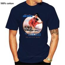 John Wayne De Searchers Warner Bros C.V.Whitney Johnharajuku Streetwear Shirt Menhunter Miles T-shirt