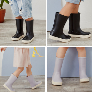 Image 4 - DRIPDROP Toddler Kids Rain Boots Girls Boys Classic School Boots Rainсoat Rain Rainwear Toddler Raincoat