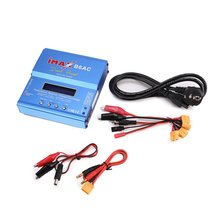 iMAX B6AC 80W 6A Lipo NiMh Li-ion Ni-Cd AC/DC RC Balance Charger 10W Discharger for RC Car Helicopter Drone Airplane Battery