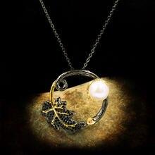 Милый женский белый натуральный жемчуг ожерелье ювелирных изделий